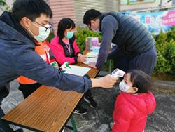 山上區防災宣導 大人小孩戴口罩體驗消防救災