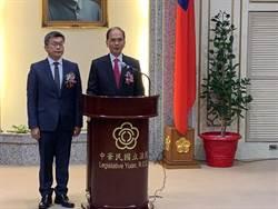 游錫堃宣誓就職立法院長 主張推動下降參政年齡