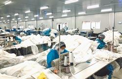 陸不織布之都 供應60%口罩材料