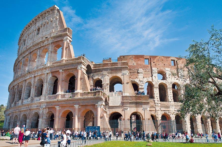 義大利羅馬競技場。(美聯社)