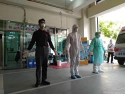 侯友宜視導武漢肺炎防疫演練 新北消防全力強化防疫作戰