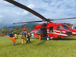 八通關古道傳山難  19歲男墜深谷救難人員馳援