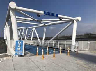竹市盤檢17公里6座景觀橋全面體檢 彩虹1、2橋先補強