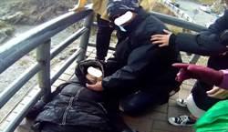 遊客合歡山賞雪疑因高山症昏厥 員警及時CPR救回寶貴生命