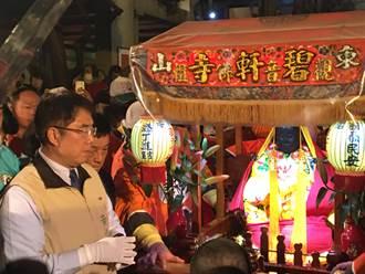 東山迎佛祖正二媽起駕回鑾 傳承百年古香路