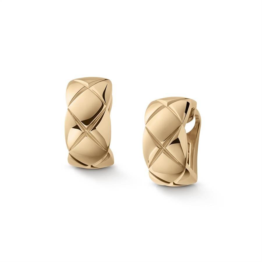 孫藝珍在劇中佩戴Coco Crush耳環,10萬8000元。(CHANEL提供)