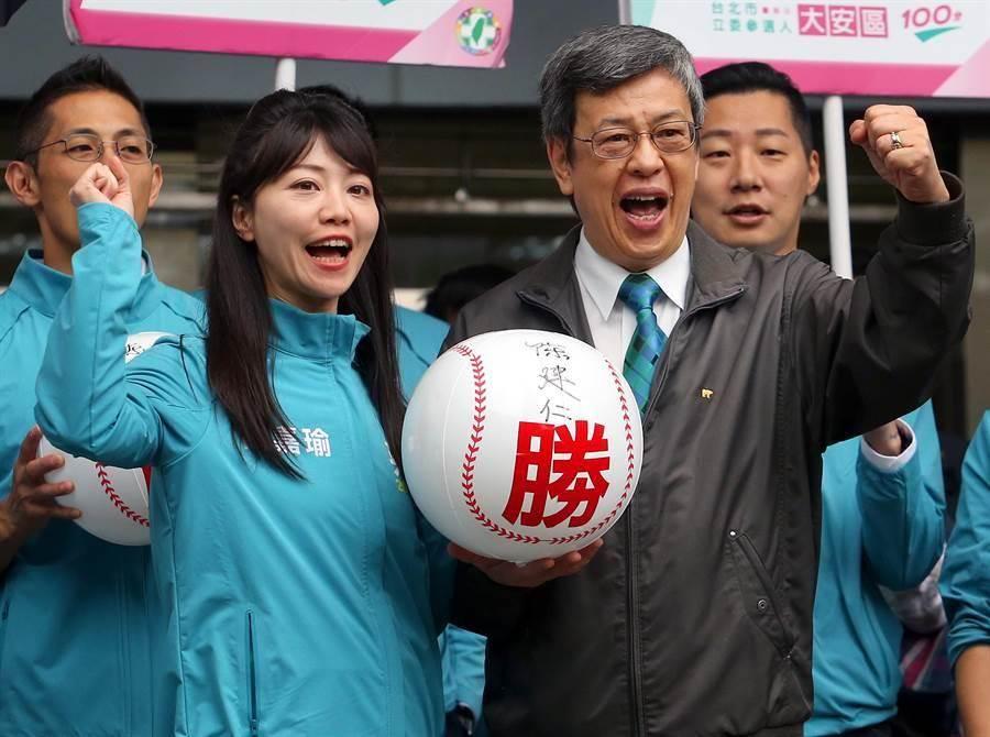 民進黨新科女立委 高嘉瑜(左)。(圖/本報資料照)