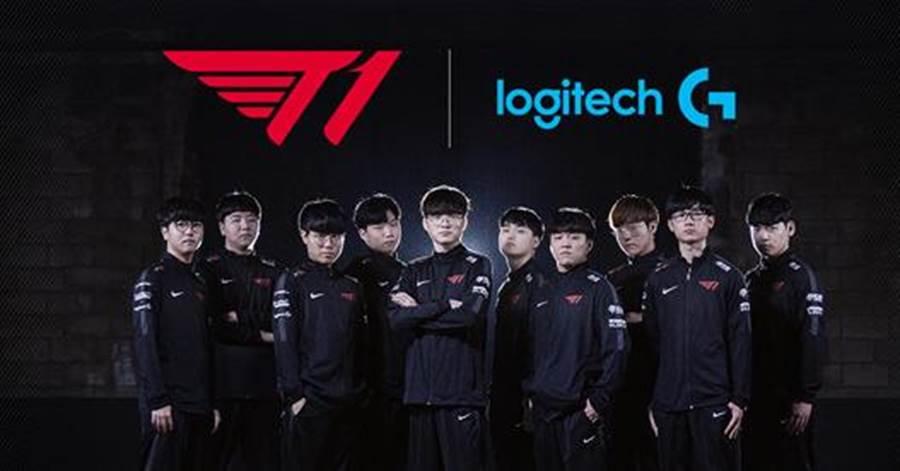 (Logitech G與《英雄聯盟》世界盃常勝軍T1戰隊合作,強勢橫掃國際電競圈。圖/廠商提供)