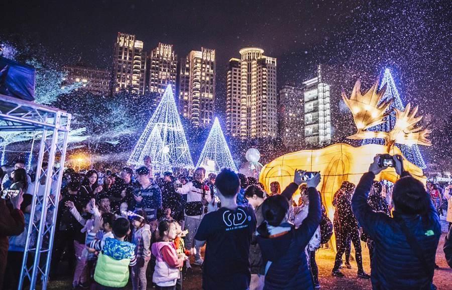 2020台灣燈會副展區文心森林公園。(本報資料照)