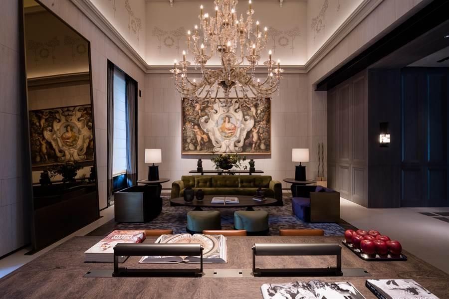 聯聚建設的建築作品引起企業、同業矚目,其他亞洲地區國家的首富及知名銀行家都曾指名參訪聯聚。(盧金足攝)