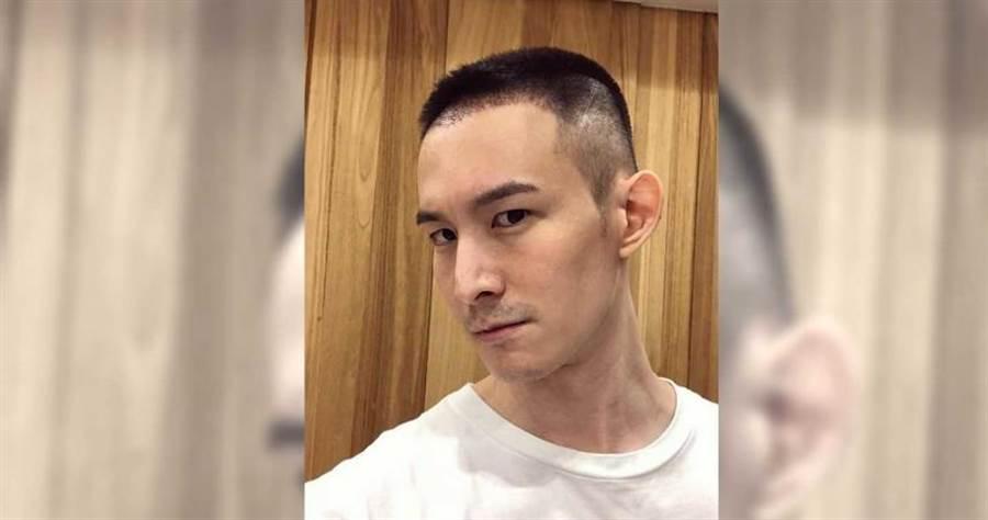波特王公開留長髮原因。(圖/翻攝自波特王臉書)