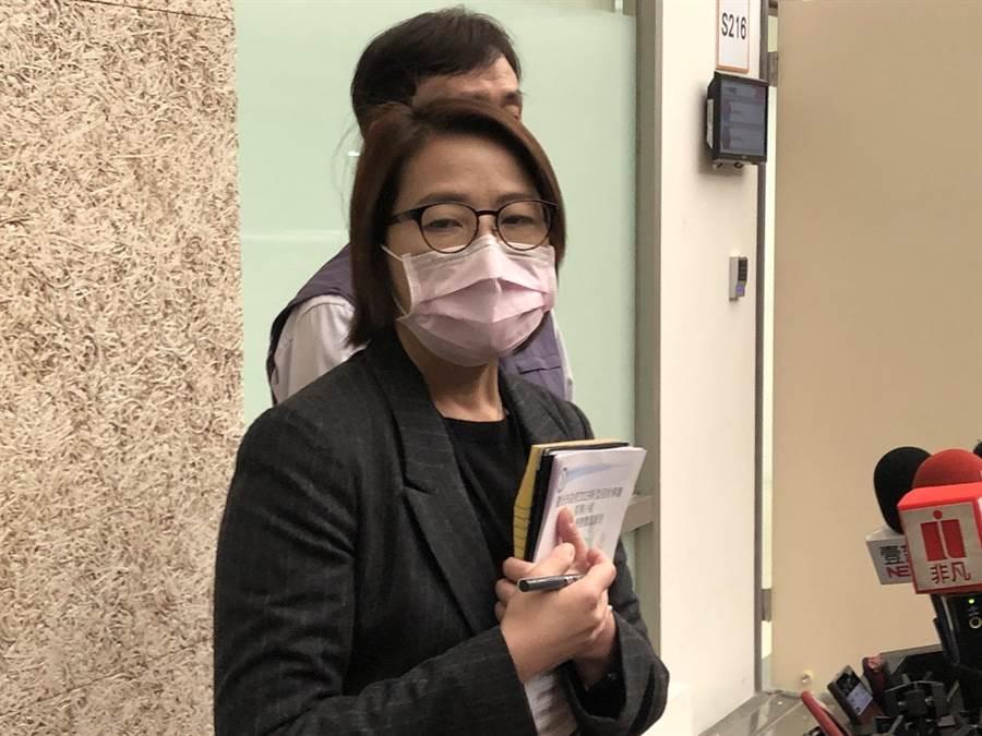 台北市長柯文哲透露安置地點引發爭議,北市副市長黃珊珊緩頰。(張薷攝)