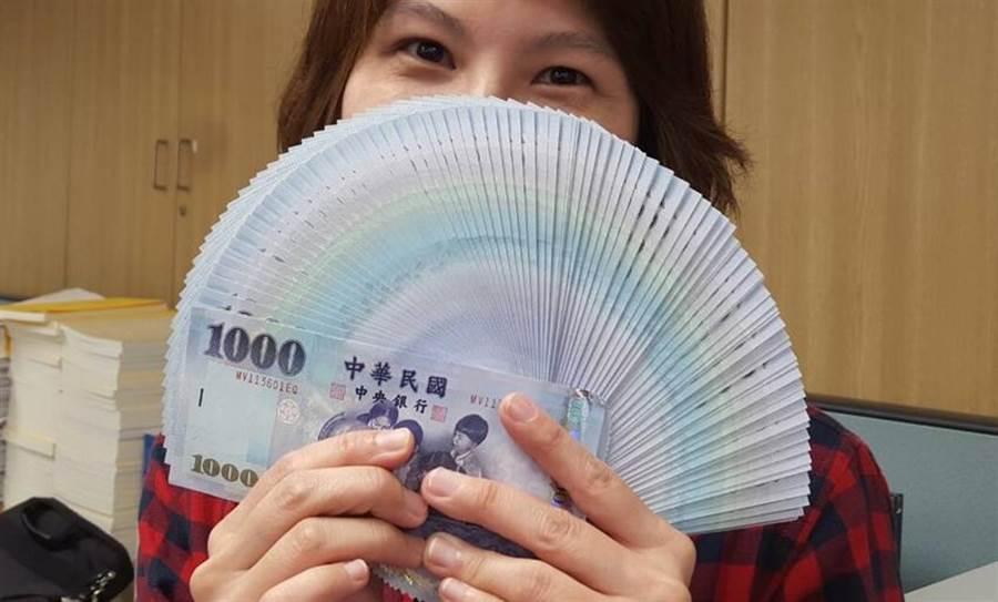 (新台幣貶至30.332元的近二個月新低。圖/呂清郎)