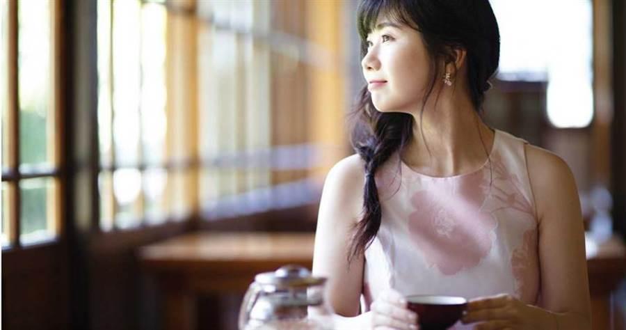 福原愛從小被日本媒體關注。(圖/三采文化提供)