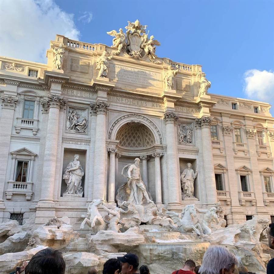 圖為羅馬許願池。(本報資料照)