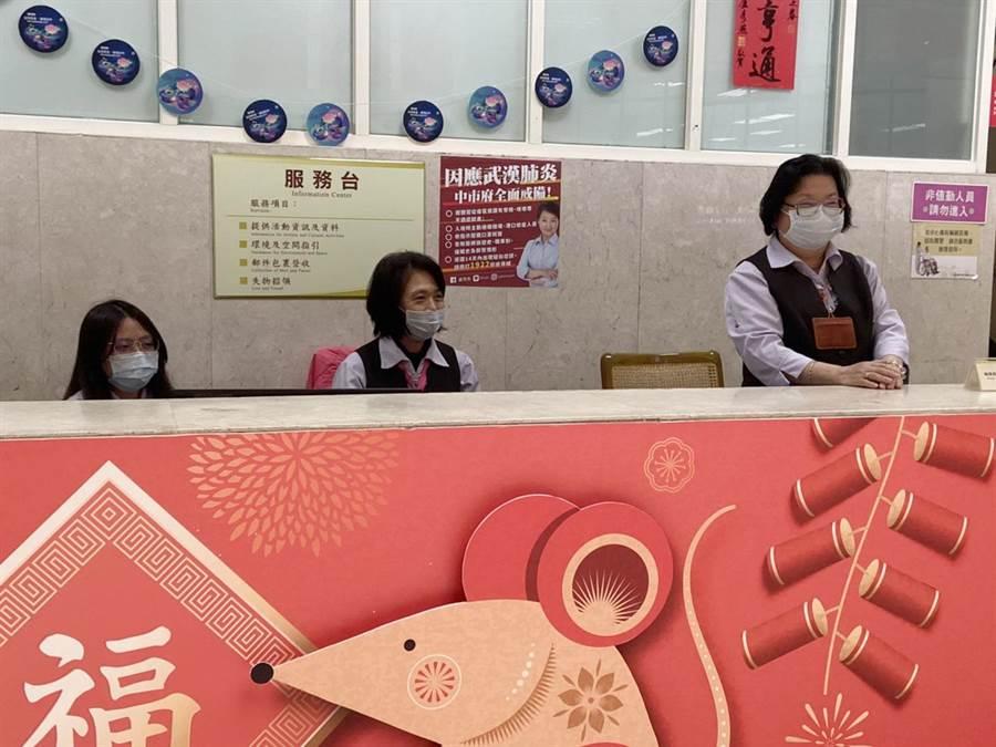 台中市文化所屬場館已完成防疫整備。(台中市文化局提供/陳淑芬台中傳真)