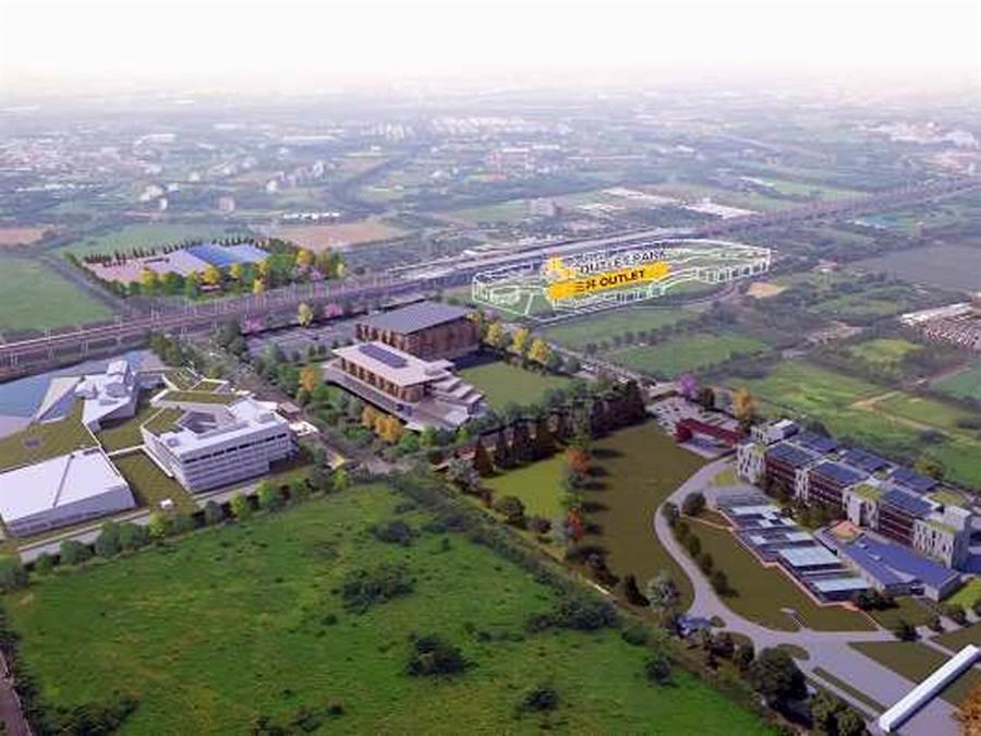 台南市政府推動綠能產業鏈,有意將仁德港墘農場報編為綠能產業園區用地,目前正進行可行性評估階段。(市府提供/洪榮志台南傳真)