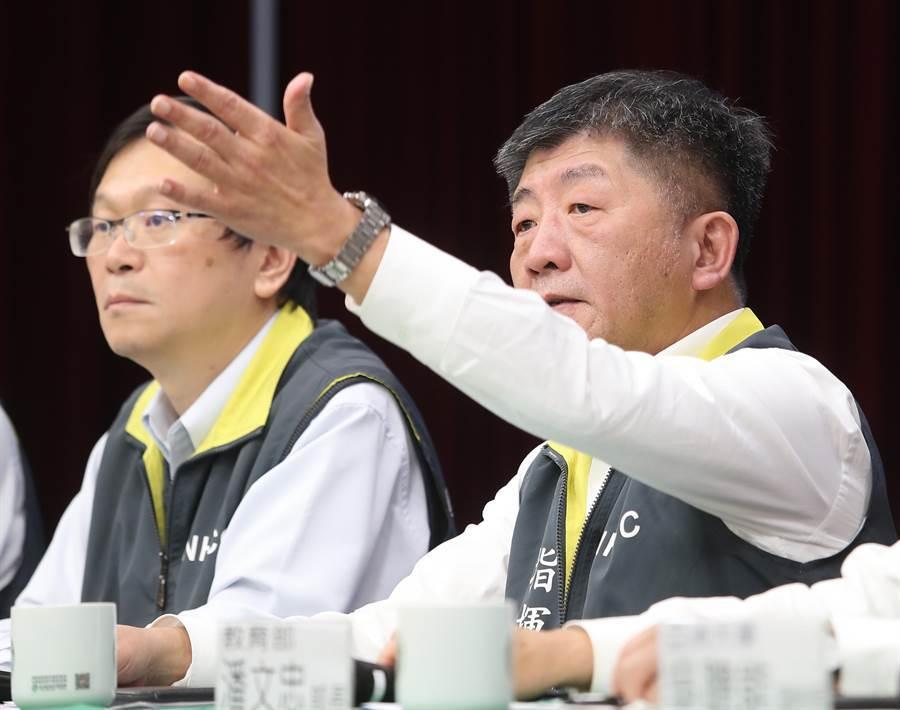 武漢台商包機今晚抵台 指揮中心2100緊急召開記者會。(本報資料照)
