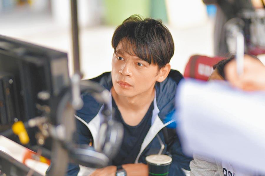 阿KEN懷抱電影夢,自編自導自演的電影《練愛iNG》將在下月登上大銀幕。(藝起娛樂提供)