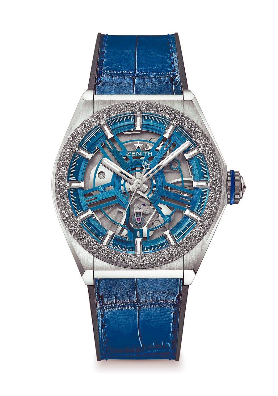 真力時DEFY Inventor腕表,61萬元。(ZENITH提供)