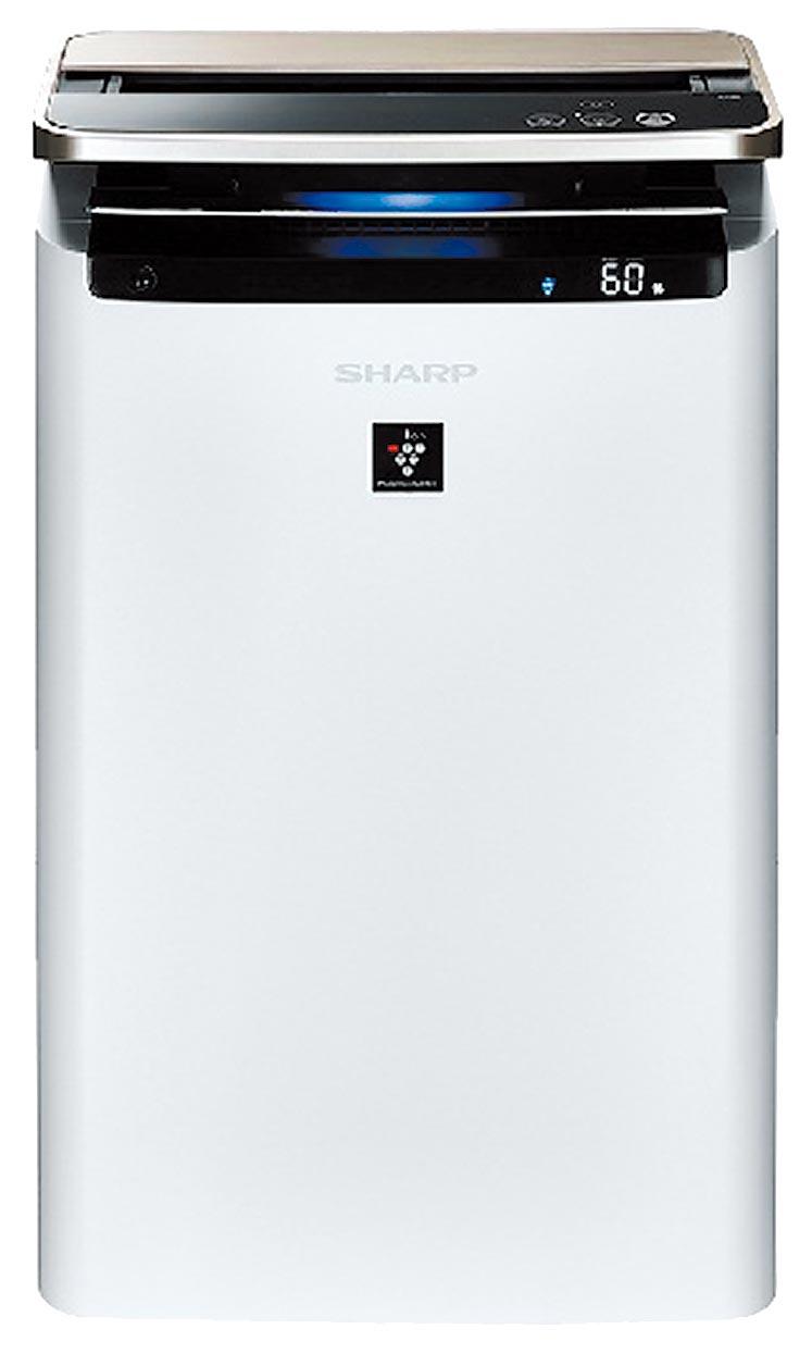 全國電子的SHARP水活力空氣清淨旗艦機,特價3萬4900元,店內另有優惠價,送全國電子獨家好禮Marella XL Mxplus blue濾水壺。(全國電子提供)