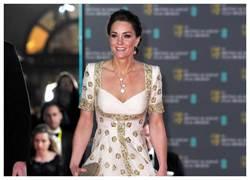 凱特王妃堅守皇室責任  佩戴梵克雅寶出席BAFTA