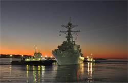 費茲傑羅號驅逐艦 修復2年重返大海
