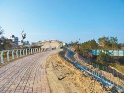 北港溪河濱整容 打造水岸綠地