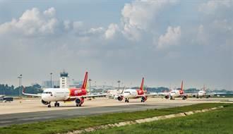 越捷航空去年營收年增29.3%