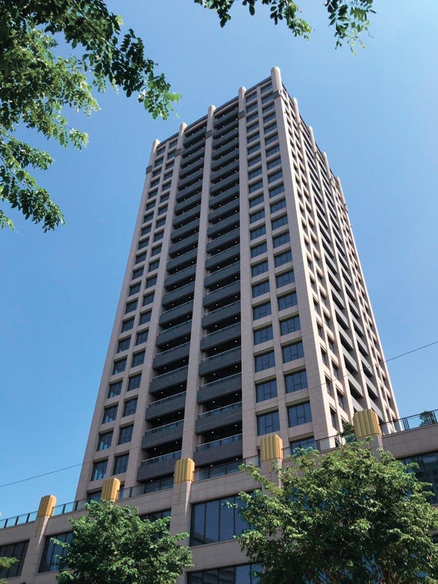 中悦總部將從南崁搬遷到雙軸心西側起點且銷售中的「中悦IFC」,同樣這棟建築也吸引勤誠興業進駐使用4個樓層作為研發總部。圖/業者提供