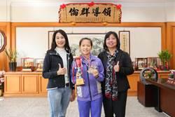 二林工商陳怡津全國健力錦標賽勇奪4金 打破3項全國紀錄