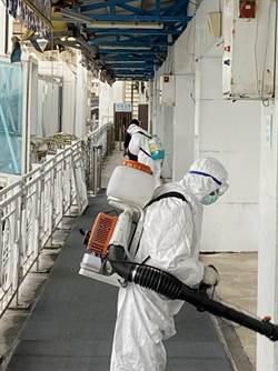 武漢肺炎病患未隨世界夢號入境基隆港 港方則積極落實郵輪防疫