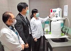 裝水神生成機 澎科大送抗菌水