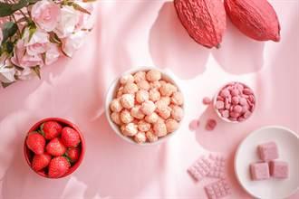粉紅旋風來襲!「星球工坊」讓草莓控手刀搶紅寶石巧克力爆米花