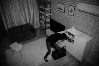 小偷闖家中 恐怖行徑全遭錄下