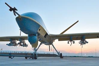 美鷹式飛彈獵龍 陸無人機折翼