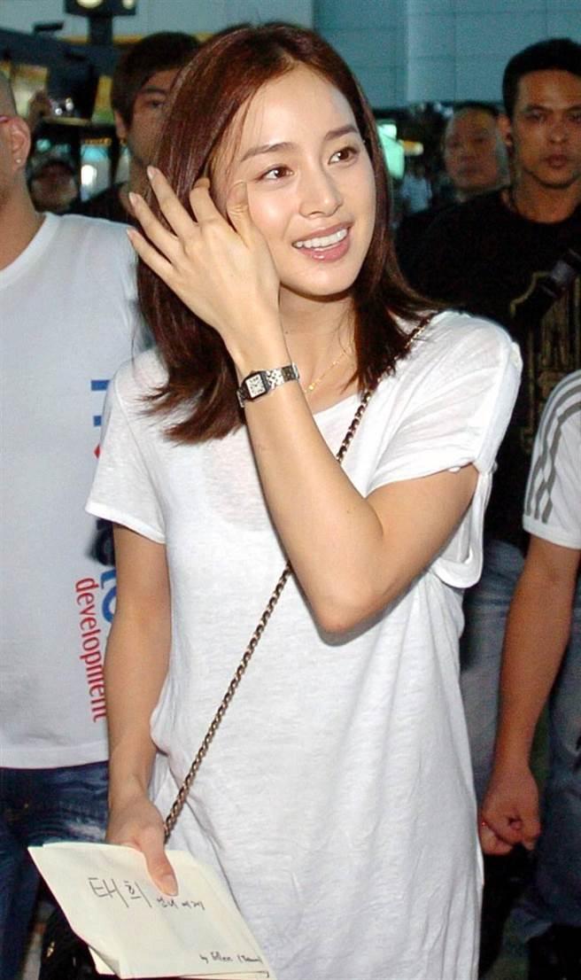 韓國最美女星金泰希實至名歸。(本報系資料照)