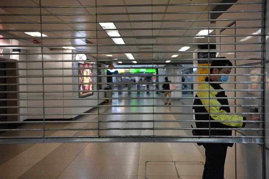 香港受新冠肺炎疫情影響。(資料照/中新社)