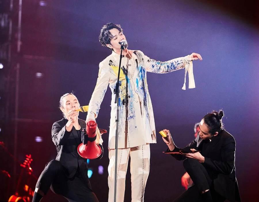 吳青峰高雄演唱會今晚第二場。(環球提供)