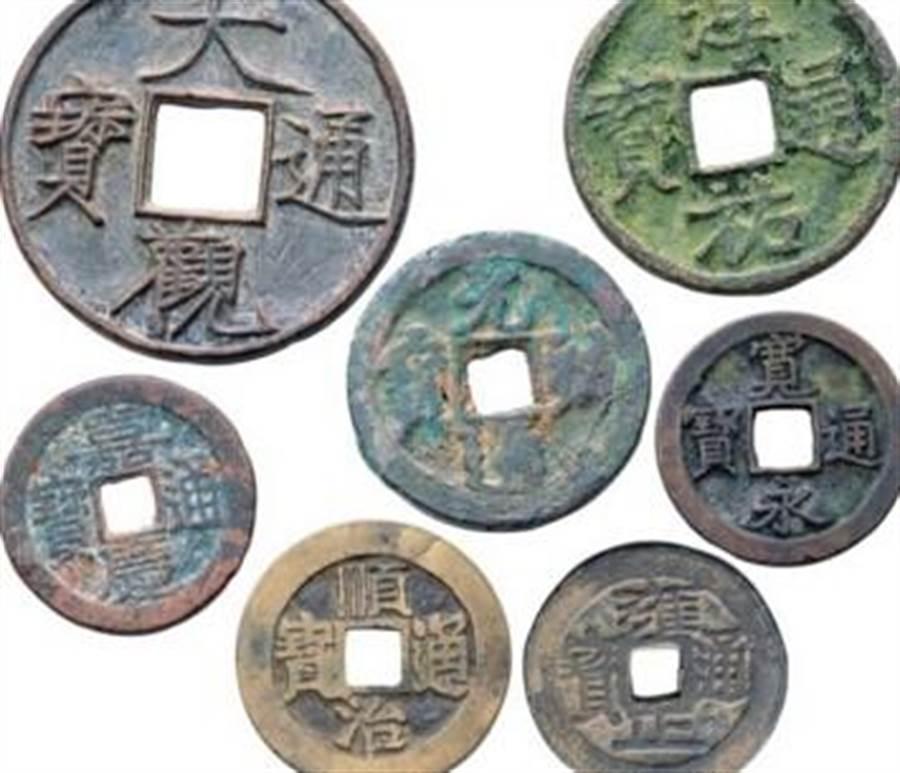 古錢幣。(取自網路)