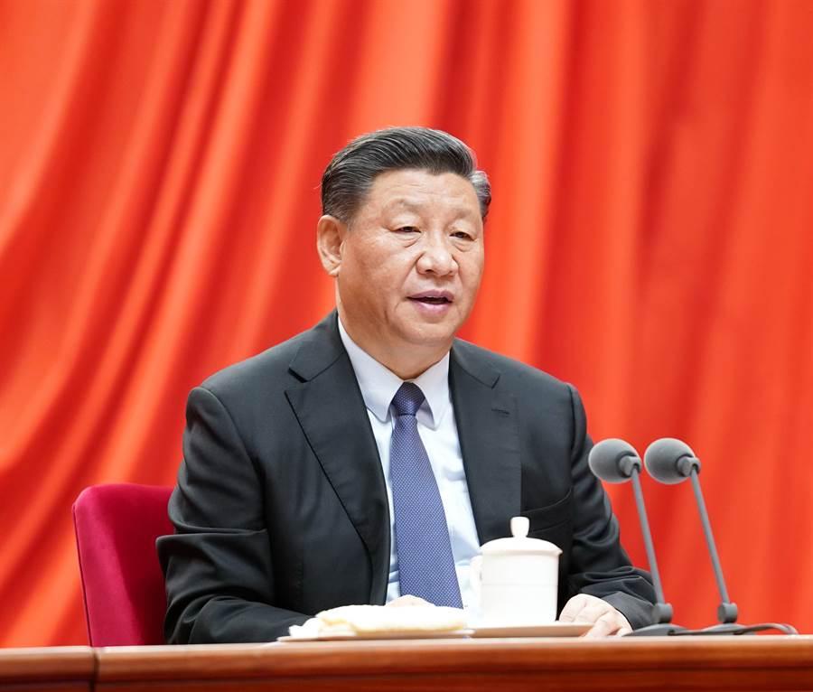 自今年春節以來,中共國家主席、總書記習近平已第3次在黨中央會議中就疫情防控做出指示。(圖/新華社)