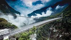 太魯閣「山月吊橋」絕美景觀  預計下半年開放