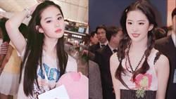 劉亦菲撞臉劉詩詩?19歲舊照曝光網驚「都沒老」