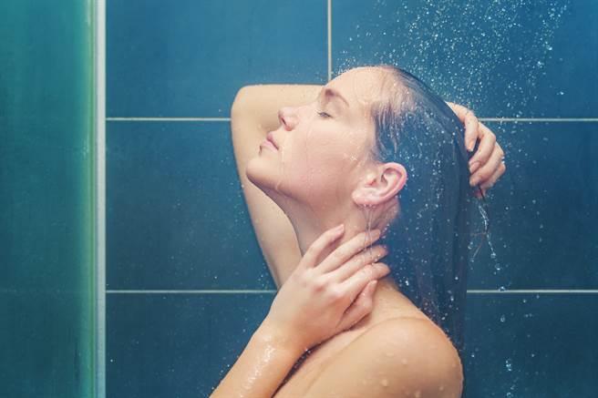 姊夫出差前特地先在浴室安裝好針孔,等小姨子來洗澡。(示意圖/shutterstock)