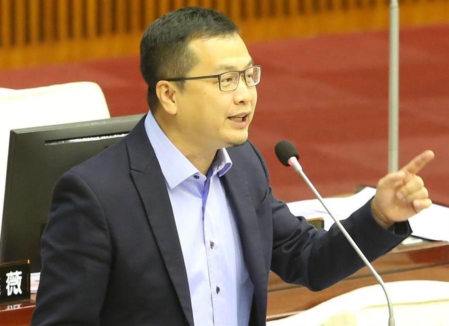 台北市議員羅智強。(資料照/王英豪攝)