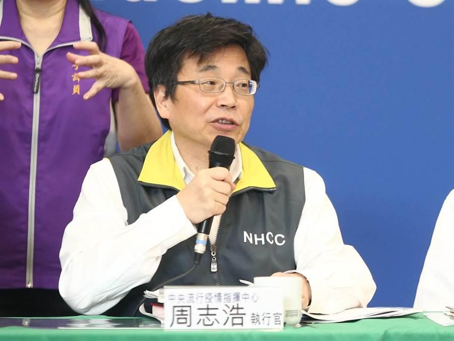 再添2確診者味覺喪失,周志浩提醒臨床醫師特別注意。(本報系資料照/杜宜諳攝影)