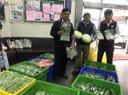 延後開學不須菜量農民憂 竹東農會助賣有機蔬菜