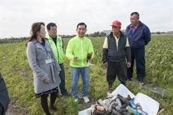 資源回收政策失敗? 廢玻璃瓶成春耕地雷