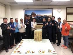 破獲資源回收業者遭竊6500萬 公會致謝竹縣警局