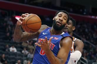 NBA》不講義氣!活塞低價出清籃板王